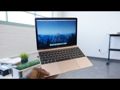 Video: Apple's refreshed MacBook