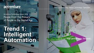 Intelligent Automation - Tech Vision 2016 Trend 1