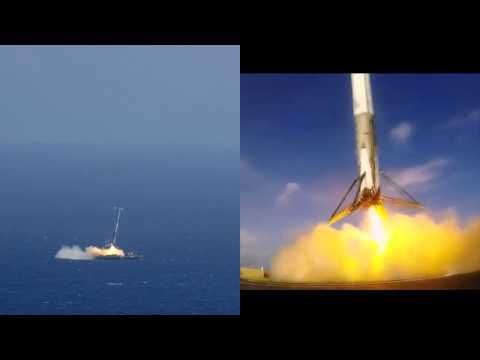Leaked Barge Video Reminds SpaceX How Close To Perfect The Landing Was