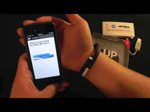 how to sync jawbone up24