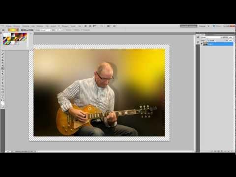 Kader om een foto en het inkleuren van het kader (met geluid)