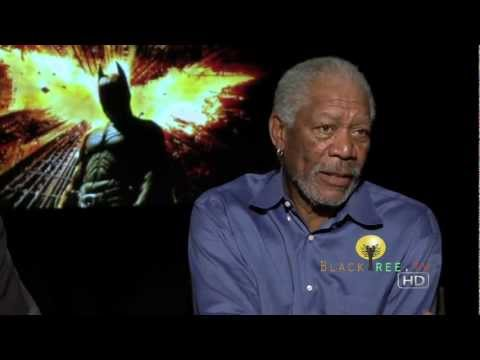 blacktreemedia - Check out this Exclusive Interview with actor Morgan Freeman for the new Batman film