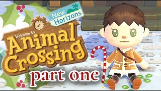 Animal Crossing : Home Tour & Festive Outfits ~ Part 1
