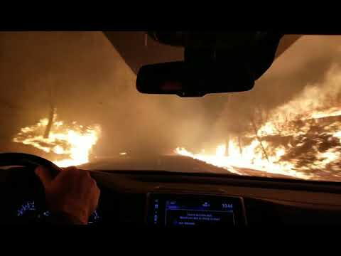 Escaping the 'Camp Fire' in Butte County