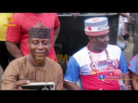 K1 DE ULTIMATE CROWNED ASIWAJU OF OKOO FAJI + HIS PERFORMANCE AT OKOO FAJI 20 YEARS ANNIVERSARY