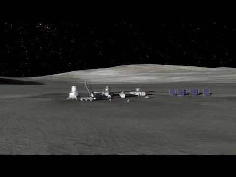 歐洲科學家:23年內應有百人住月球[影]