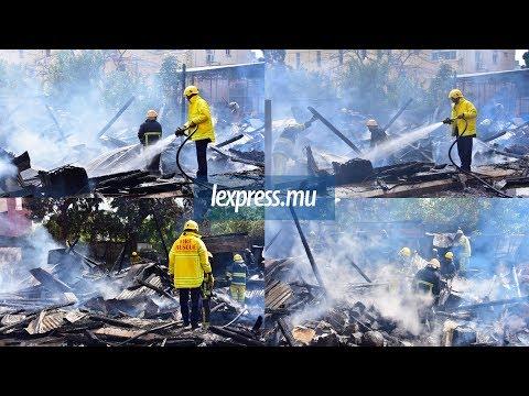Incendie à la Rue d'Entrecasteaux: aucune victime à déplorer