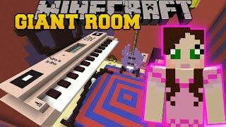 Minecraft: STUCK IN A GIANT ROOM! - HIDDEN BUTTONS 6 - Custom Map