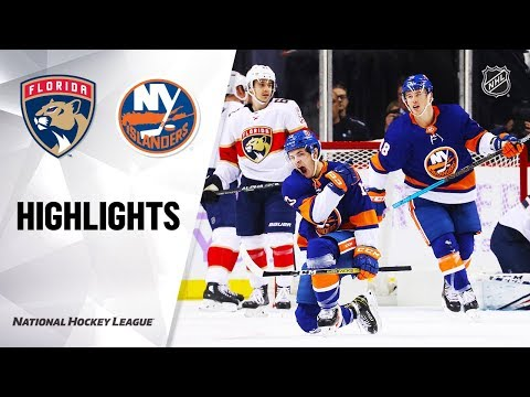 NHL Highlights | Panthers @ Islanders 11/09/19