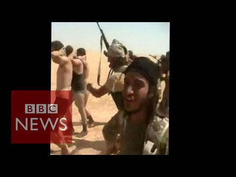Kill - Dozens of Syrian army soldiers appear to have been killed by Jihadist militants from Islamic State (IS), activists say. ***THIS VIDEO CONTAINS SOME DISTURBING IMAGES*** Subscribe to BBC News...