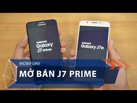 Mobifone sẽ mở bán J7 Prime | VTC1 - Thời lượng: 51 giây.