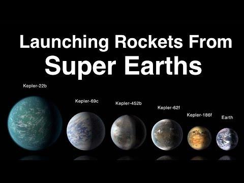 Could Aliens Build A Rocket To Escape A Super Earth? (видео)
