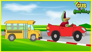 Learn Vehicles for Kids, Children, Toddlers with Cars, School Bus, trucks, Airplane Learning Video