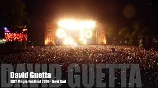 David Guetta live @ EXIT Magic Festival 2016 - Grand Opening