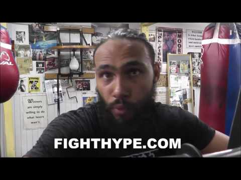 KEITH THURMAN EXPLAINS HOW PUERTO RICANS FANS BACKING HIM VS. GARCIA SHOWS