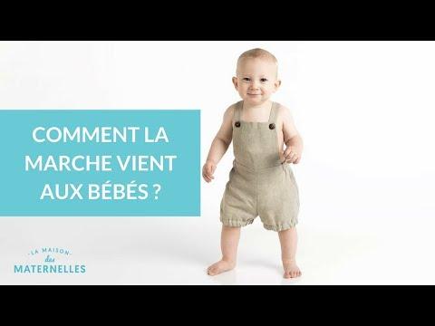 Comment la marche vient aux bébés ?