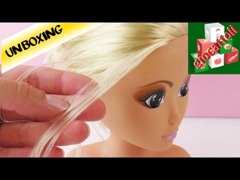 Testa da pettinare e acconciare: prove per parrucchiere!