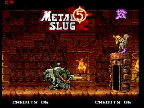 metal slug 5 neo geo emulator