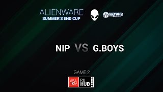 Golden Boys vs NIP, game 2
