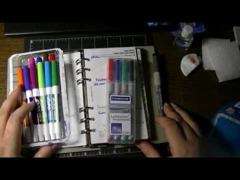 Semi-Permanent & Dry Erase Pens/Markers