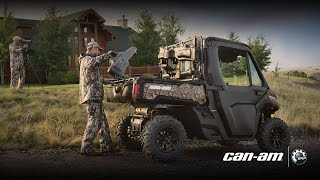 10. Hunting Accessories for Can-Am Defender side-by-side vehicles