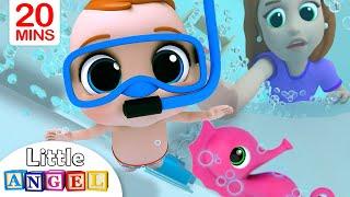 Video Bath Song | Baby's Bath Time | Little Angel Nursery Rhymes & Kids Songs MP3, 3GP, MP4, WEBM, AVI, FLV Juli 2019