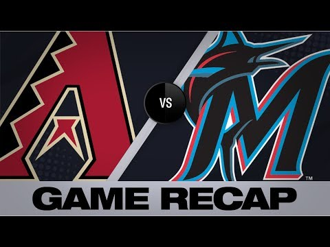 Video: Ahmed, Young lead D-backs to 9-2 victory | D-backs-Marlins Game Highlights 7/27