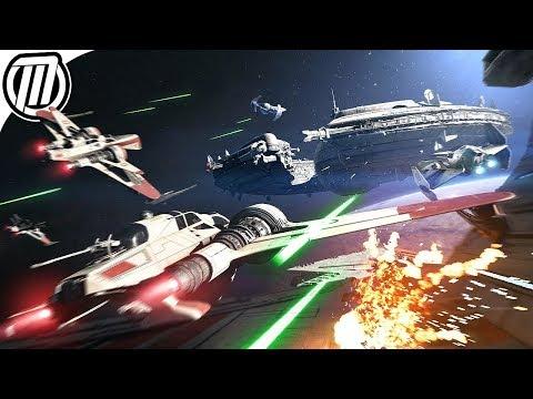 Star Wars Battlefront 2: Starfigher Dogfights - Gameplay Live Stream (видео)