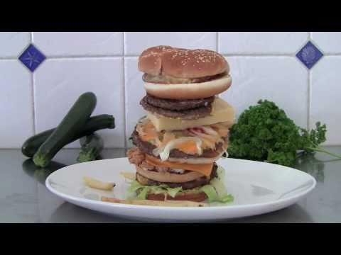 Banned McZinger Burger Commercial