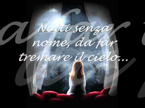 , title : 'Gianna Nannini - Notti senza cuore (testo)'