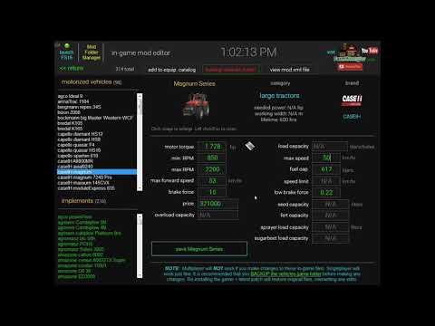 FS19 Dashboard v1.1