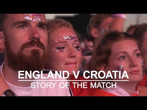 Croatia v England - The Story Of The Match From Fans Around The World - Russia 2018 World Cup