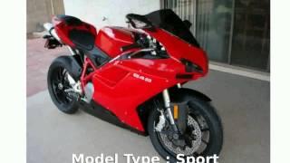 1. 2009 Ducati 848 Base  motorbike superbike