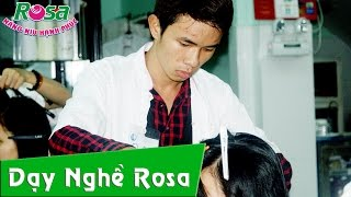 Dạy nghề cắt tóc cho