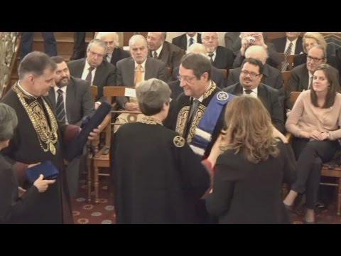 Επίτιμος διδάκτορας του ΕΚΠΑ ο Νίκος Αναστασιάδης