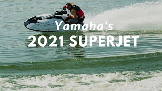 Stand up to the Challenge – Yamaha's All-New 2021 SuperJet