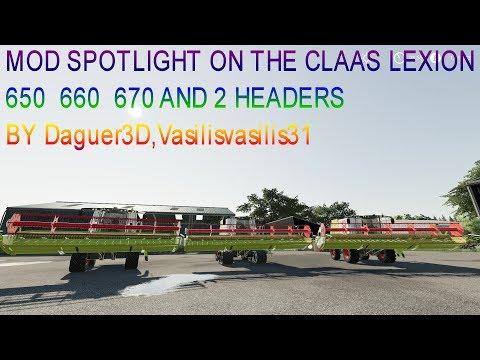 Claas Lexion 600 Series v1.0.0.0