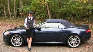 2011 Jaguar XK Convertible Test Drive&Car Review - RoadflyTV