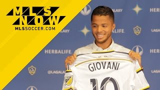 MLSsoccer.com's Kristen Kenney reports from the StubHub Center as the LA Galaxy introduce their latest signing, Mexican international forward Giovani Dos ...