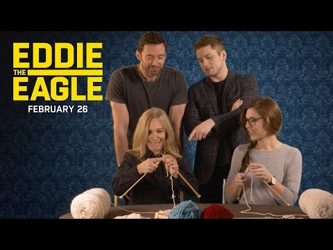 Eddie the Eagle (Featurette 'The Knitting Olympics')
