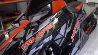 9. 2015 Polaris Pro-RMK Terrain Dominator 163 Review