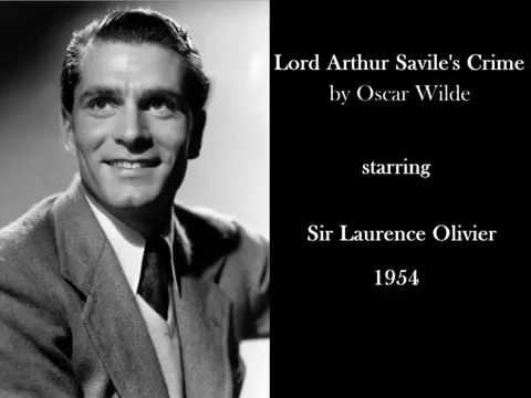 Laurence Olivier in 'Lord Arthur Savile's Crime' by Oscar Wilde (1954) - Radio drama