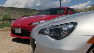 2013 Subaru BRZ Vs Scion FR-S 0-60 MPH Mile High Mashup Review