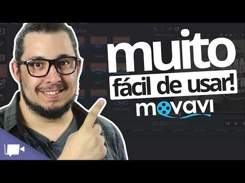 EDITOR DE VIDEOS fácil de usar? Conheça o MOVAVI Video Suite 😉