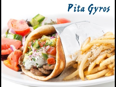 pita gyros greca - ricetta