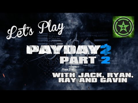 Let's - Join Jack, Ryan, Ray, and Gavin in the second installment of Let's Play - Payday 2. RT Store: http://roosterteeth.com/store/ Rooster Teeth: http://roosterteeth.com/ Achievement Hunter: http://ac...