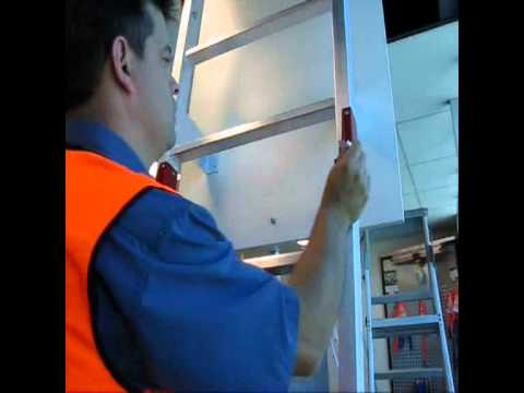 Vista Fold Down Ladder  Video Image