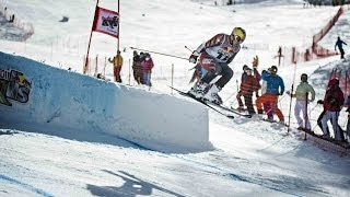 High speed alpine ski competition - Red Bull Skills