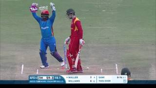 Highlights of the #WT20 Group B decider between Afghanistan and Zimbabwe Download the official ICC Cricket app for Android...