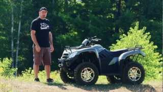 7. ATV Test Ride: 2012 Kymco MXU 450i LE